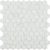 Мозаика VIDREPUR Hexagon Marbles № 4300 ANTISLIP (на сетке), м2