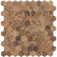 Мозаика VIDREPUR Hexagon Woods № 4700 (на сетке), м2