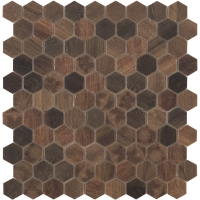 Мозаика VIDREPUR Hexagon Woods № 4701 (на сетке), м2