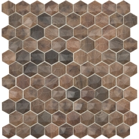 Мозаика VIDREPUR Hexagon Woods № 4701D (на сетке), м2